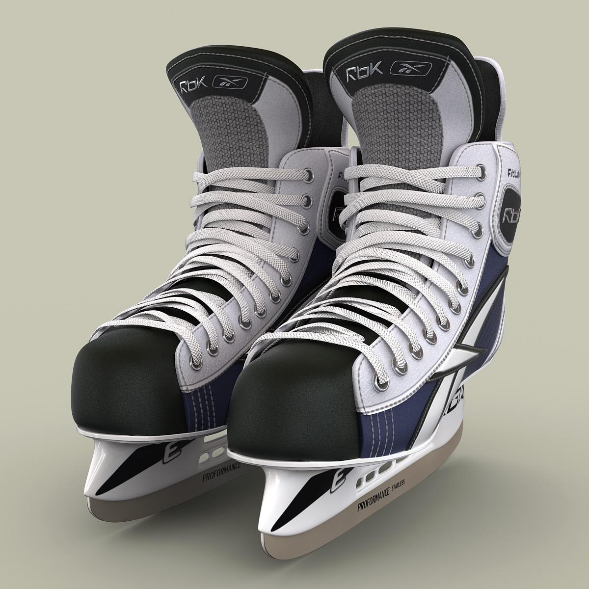 3d ice hockey skates rbk