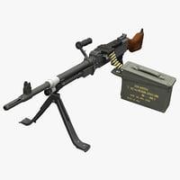 Machine Gun FN MAG