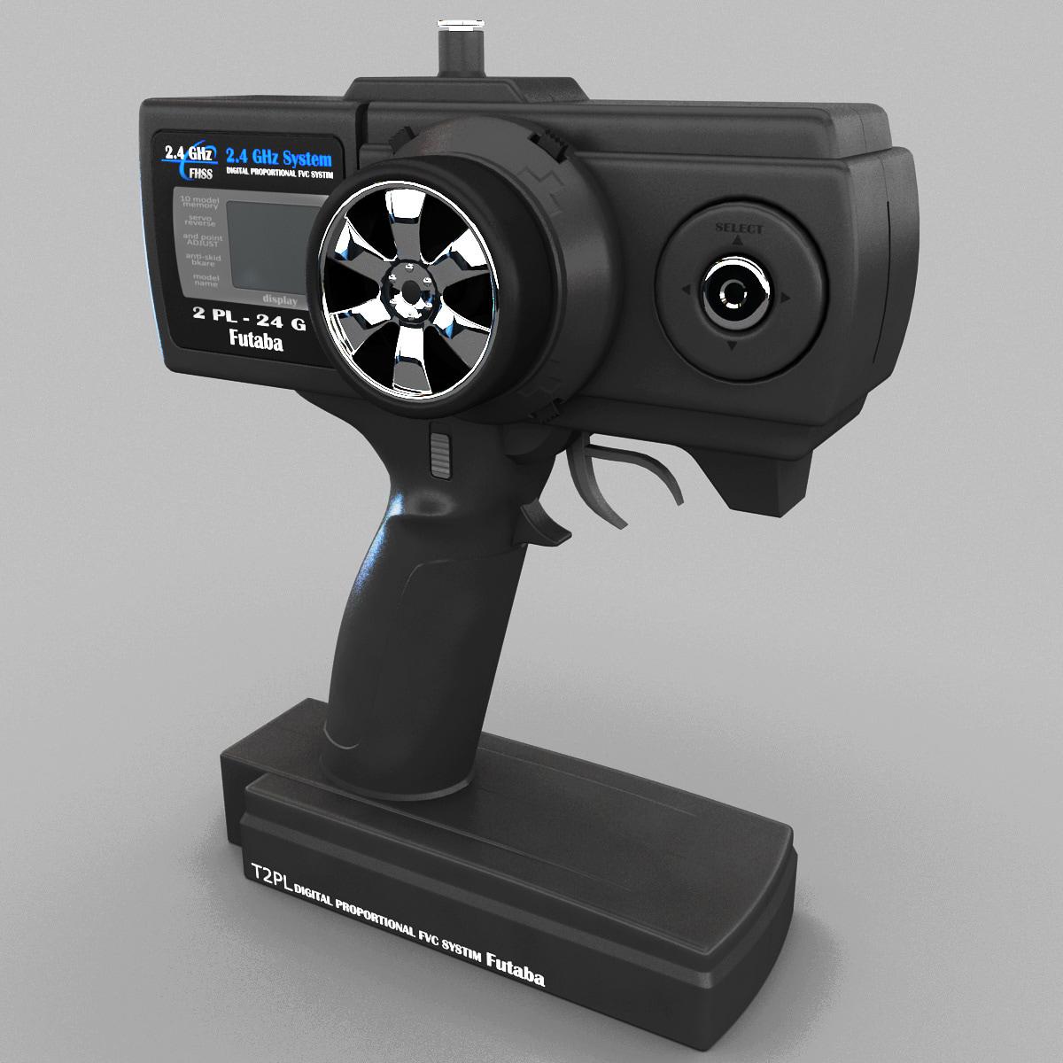 3d radio control transmitter futaba