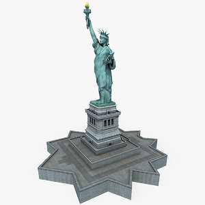 statue liberty 3ds