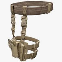 Tactical SERPA Pistol Holster V2