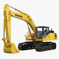 Komatsu Pc300 Hydraulic Excavator