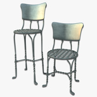 Cafe Chair And Bar Stool