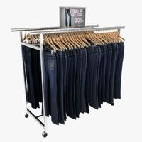 Women's Jeans Rack