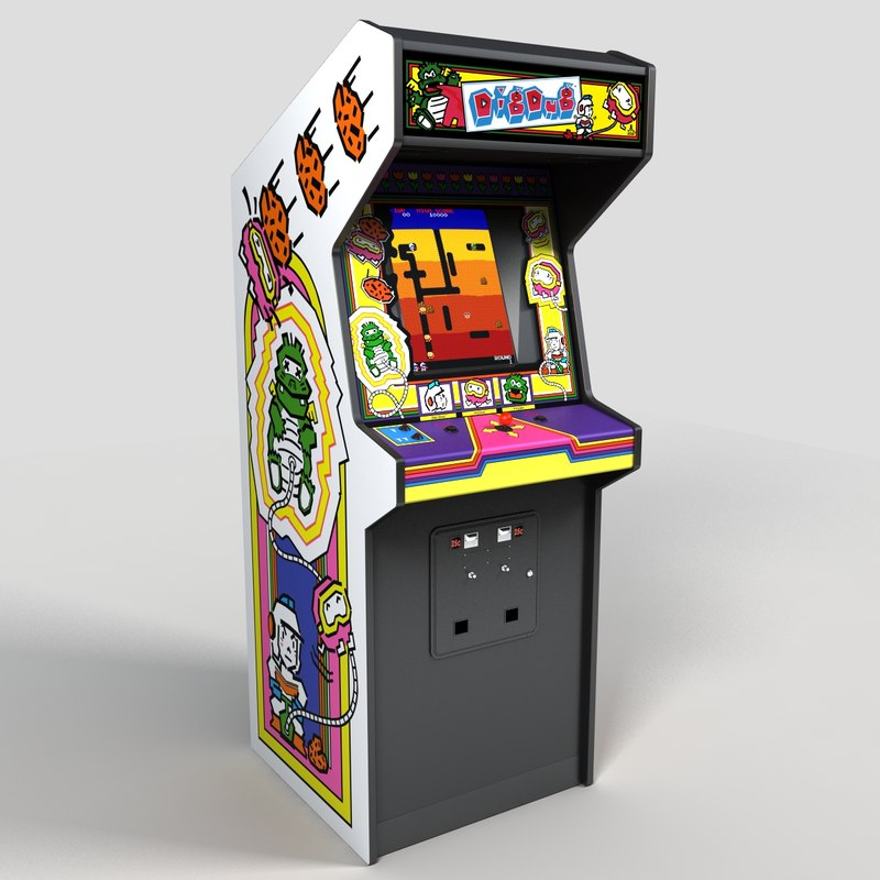 3d dig dug arcade