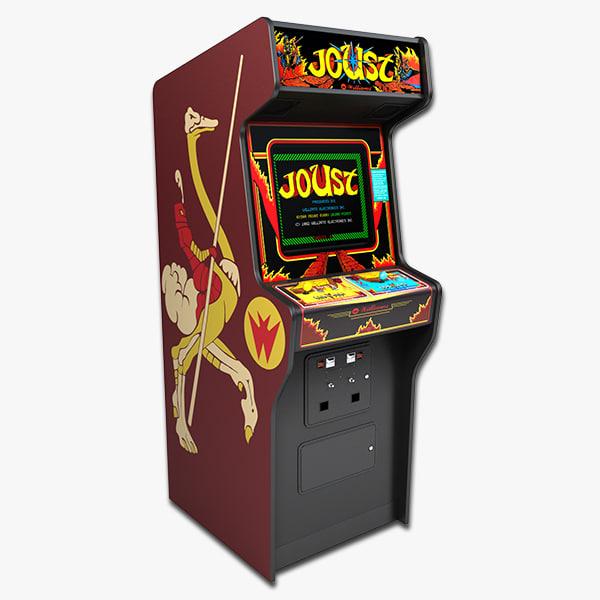 3ds max joust arcade