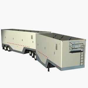 chip van -train 3d model