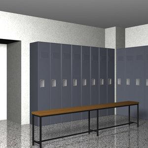 dxf locker room