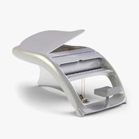 schimmel piano 3d model