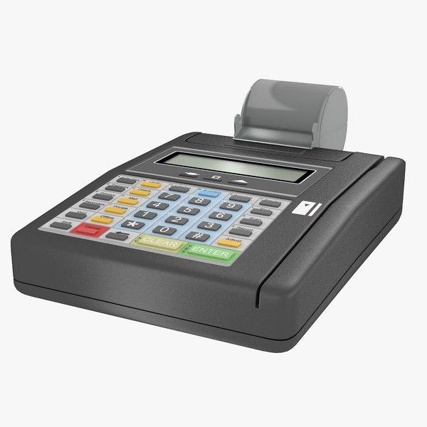 3d credit card machine
