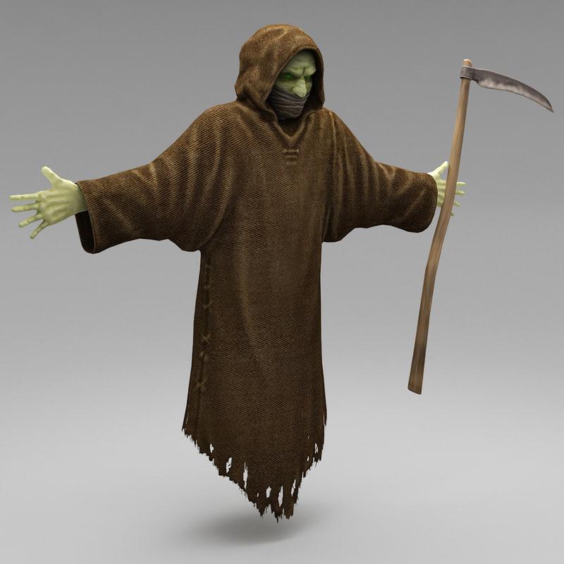 halloween monster 3d model