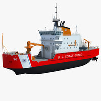 US Coast Guard Icebreaker Mackinaw