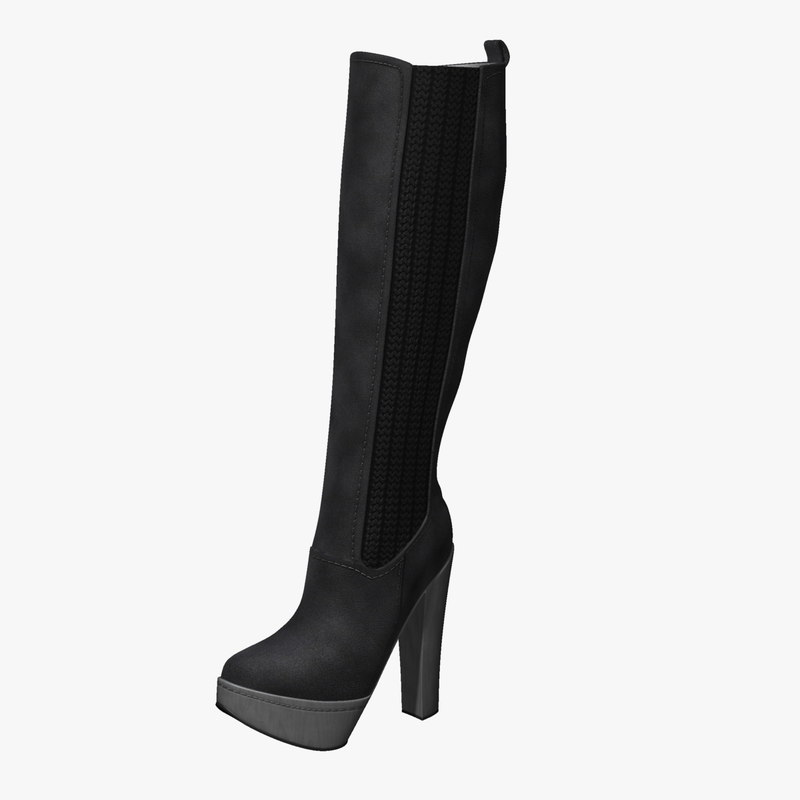 boot womens 3d model