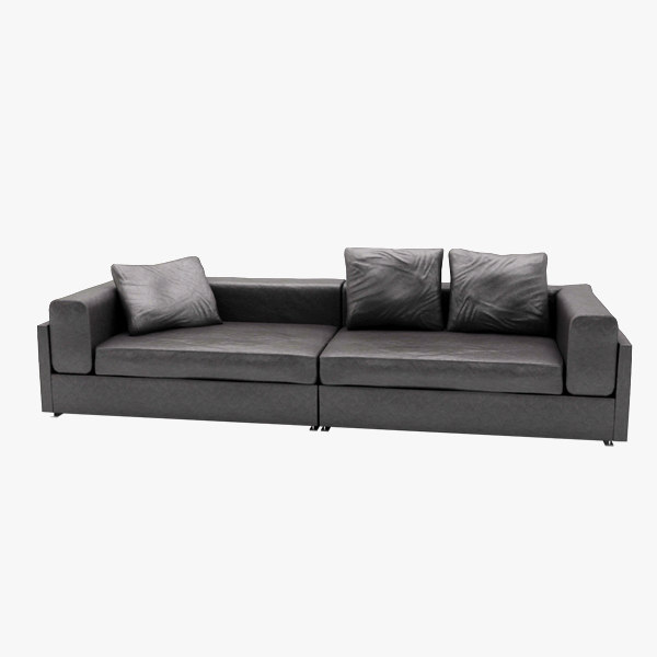 max mid-poly sofa