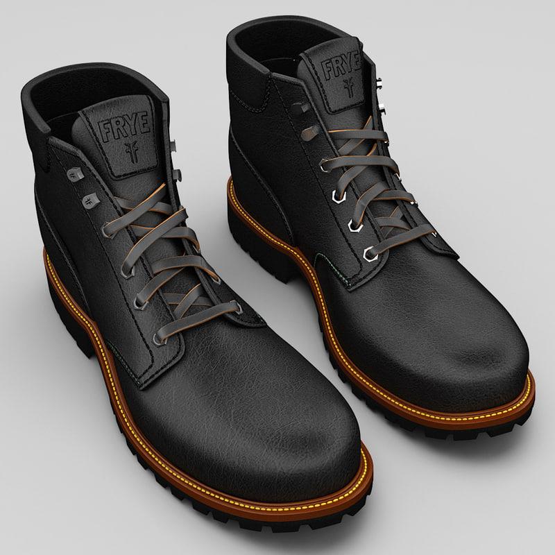 3d max mans boots frye