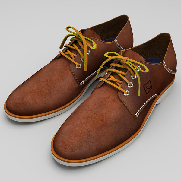 men shoes sperry top-sider 3d max