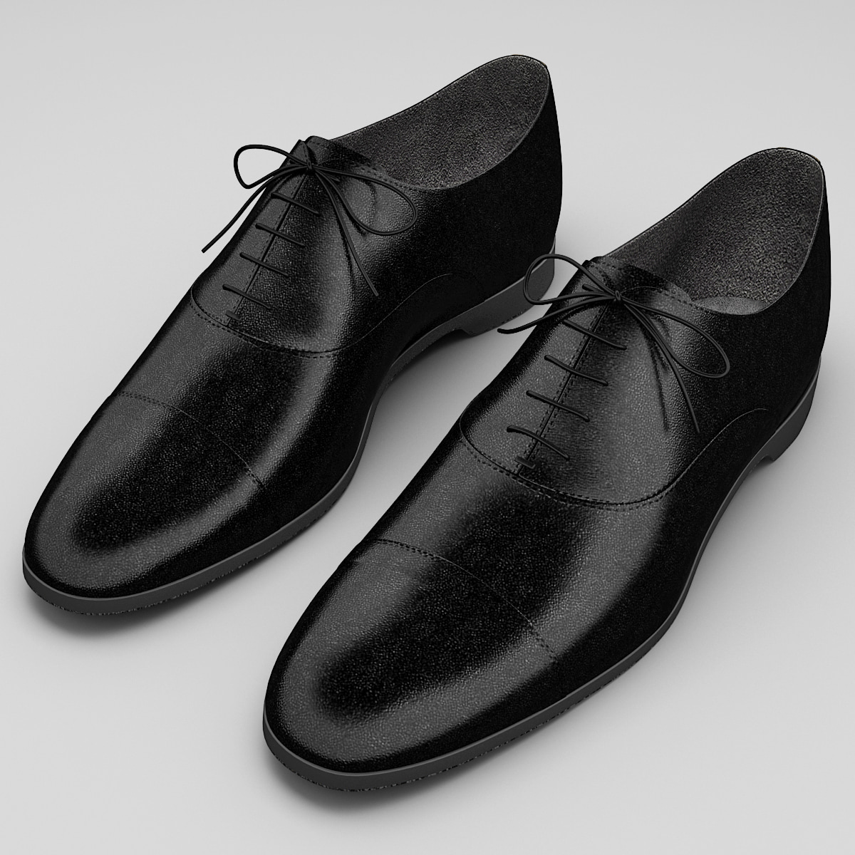 mens shoes ralph lauren 3d model