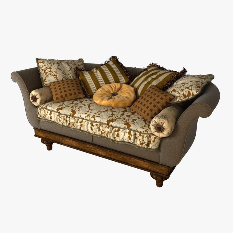 3d provasi sofa model