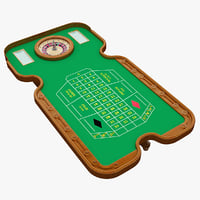 roulette table 2 3d 3ds