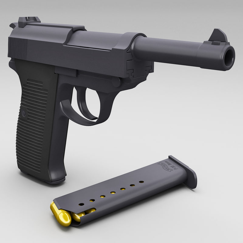 3d walther p 38