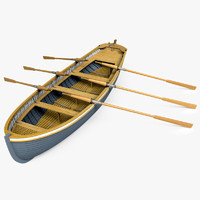 Rowboat Yawl-6