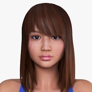 max japanese woman character airi