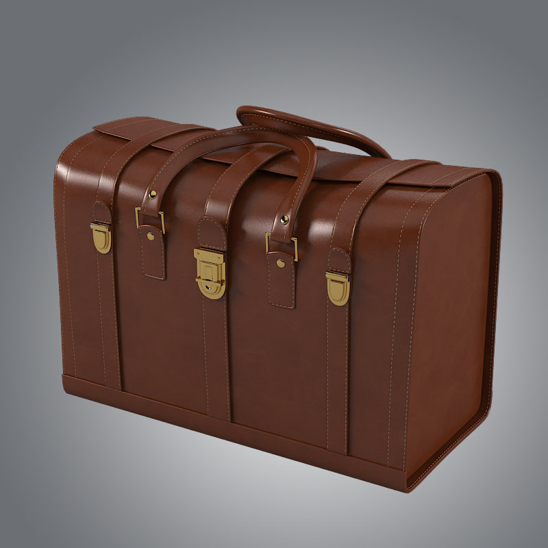 3ds max trunk bag
