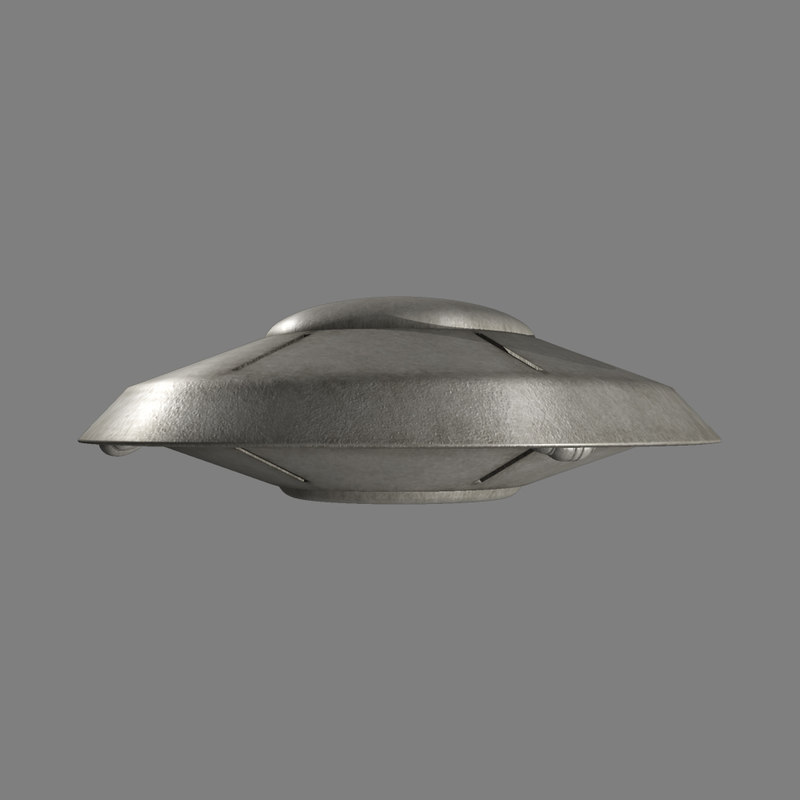 flying saucer 3d max