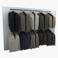 Retail Wall of Jackets