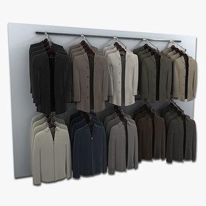3d jackets model