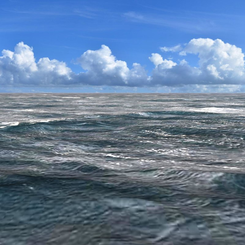 ocean seascape scenes sea 3d model