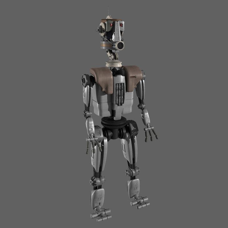 3d 3ds robot