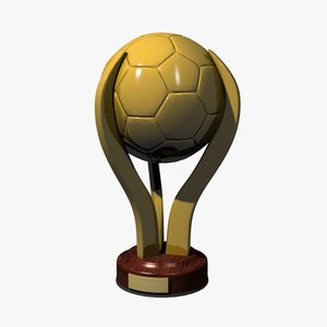 gold football trophy max
