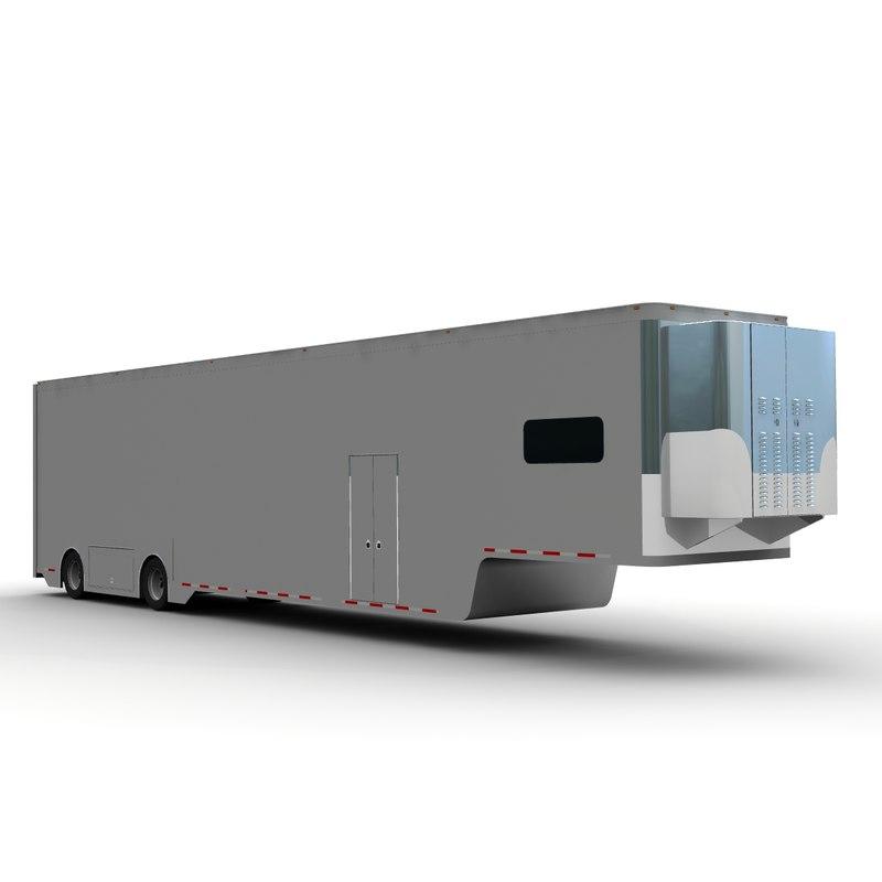 3d model race transport
