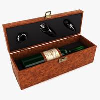3d model wine kit