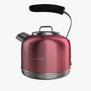 kenwood kmix kettle 3d max
