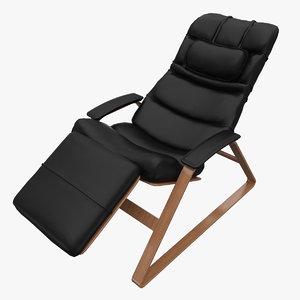 massagesessel massage chair 3d max