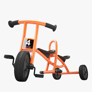 3d winther circleline tricycle taxi