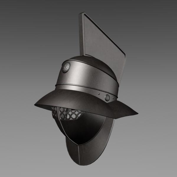 gladiator helmet 3ds