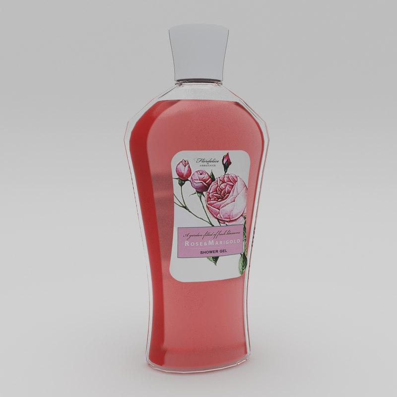 max rose marigold shower gel