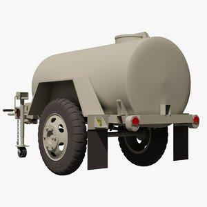 military hmmwv towable m149 3d max
