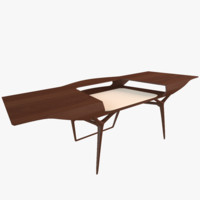 3d model ceccotti manta desk