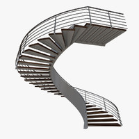 Floating Helical Stair