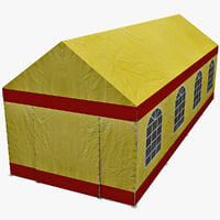 party tent 2 3d model