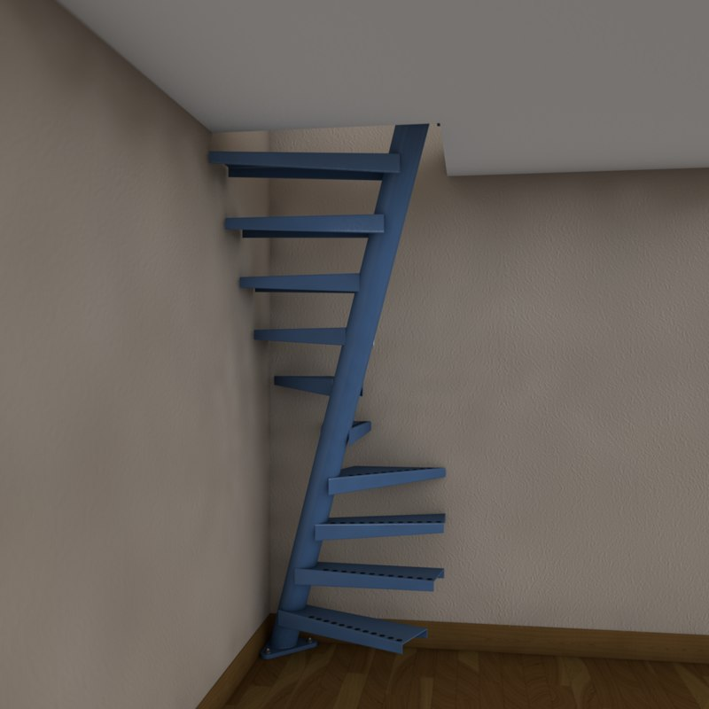 Floating Spiral Stair