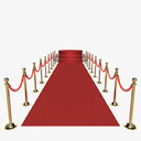 Red Carpet 3D models