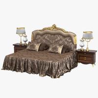 Zanaboni 445 Classic Baroque Bedroom Set