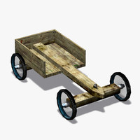car cart 3d model
