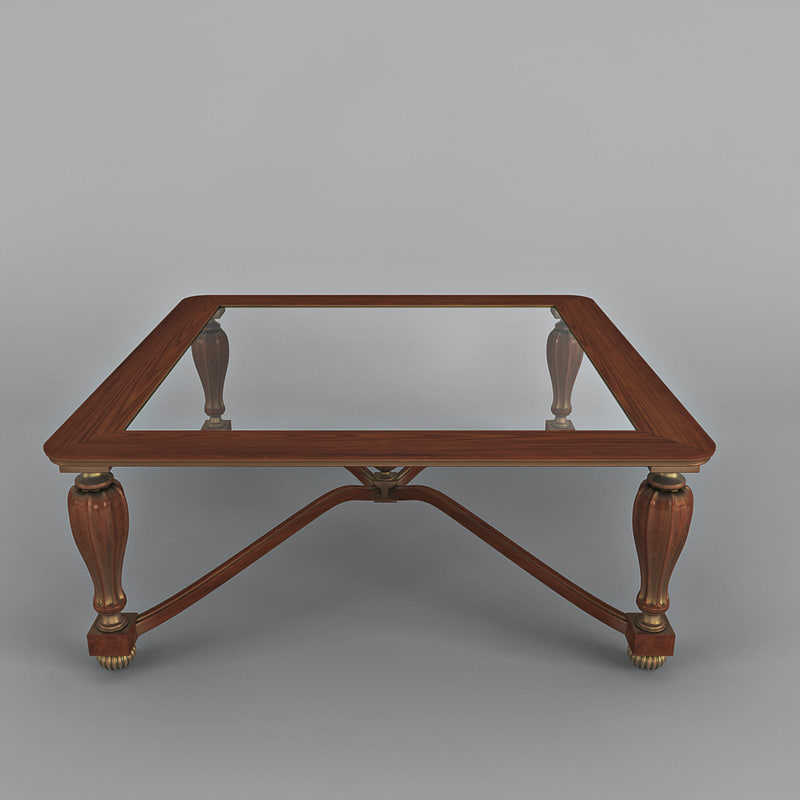 3d coffee table b