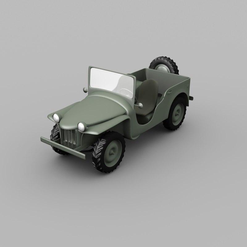 bantam vehicle 3d model